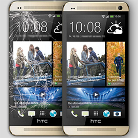 HTC Cracked Screen Repair